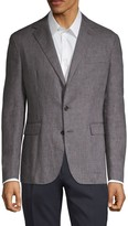 Ralph Lauren Purple Label Standard-Fit Linen Blazer