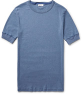 Schiesser - Karl Heinz Slim-fit Garment-dyed Cotton T-shirt