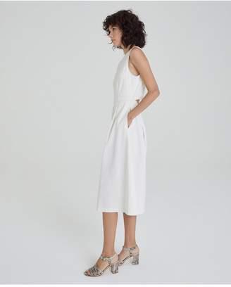 AG Jeans The Libby Dress - White Linen