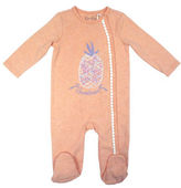 Jessica Simpson Pineapple Footie Sleeper