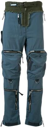 Maison Mihara Yasuhiro Zipped Pocket Trousers