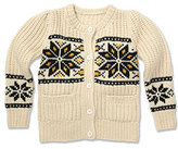 Marie Chantal Fairisle Cardigan