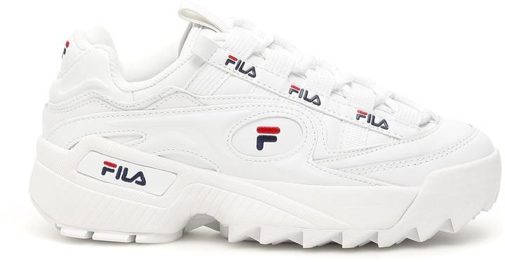 white shoes fila sneakers