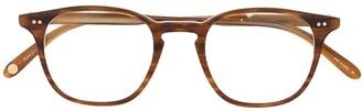 Garrett Leight Clark round-frame glasses