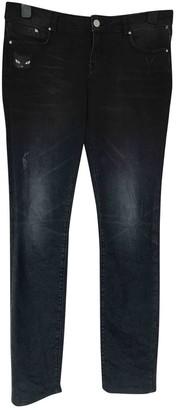 Karl Lagerfeld Paris Black Cotton - elasthane Jeans for Women