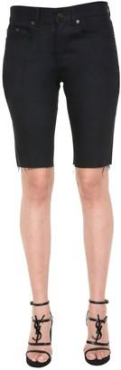 Saint Laurent Denim Bermuda Shorts