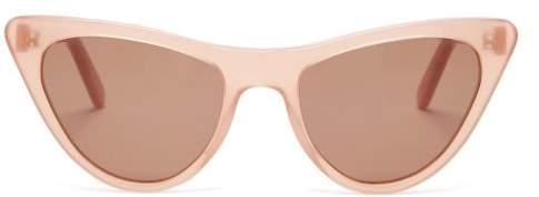 Prism - St Louis Acetate Sunglasses - Womens - Pink Multi