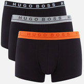 HUGO BOSS Men's 3 Pack Trunks Black
