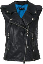 Diesel L-Rata leather gilet