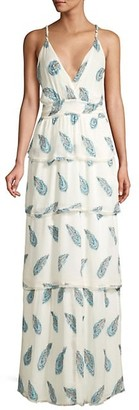 Ramy Brook Toleda Silk-Blend Maxi Dress