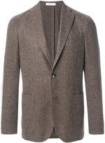 Boglioli tweed two-button blazer