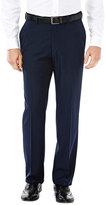 Haggar Men's eCLo Stria Straight-Fit Flat-Front Dress Pants