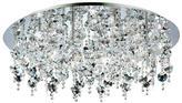Eurofase Galassia Collection 24-Light Chrome Flushmount