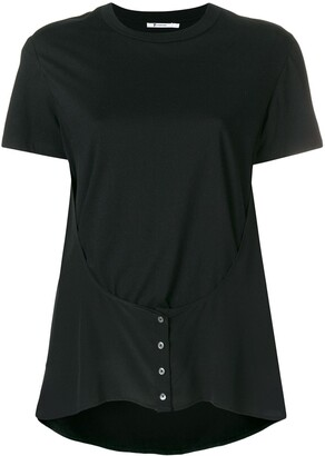 alexanderwang.t button detail T-shirt