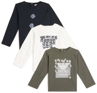 Emporio Armani Kids Set of 3 T-Shirts (6-36 Months)