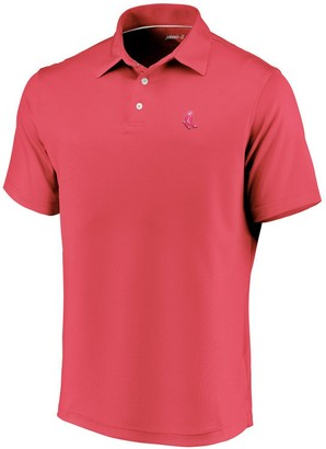 Men's johnnie-O Red Boston Red Sox Secondary Logo Birdie Polo