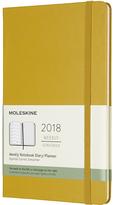 Moleskine Large Maple Yellow 2018 Twelve-Month Weekly Planner