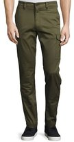 Diesel Twill Cargo Pants, Army Green