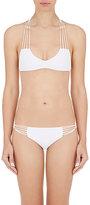 Mikoh Women's Banyans Racerback Bikini Top-WHITE