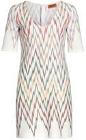 Missoni Geometric V-Neck Dress