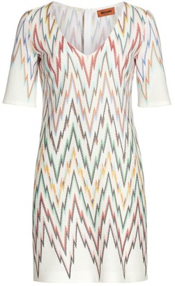 Missoni Geometric V-Neck Dress