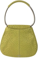 Prada Green Exotic leathers Handbag