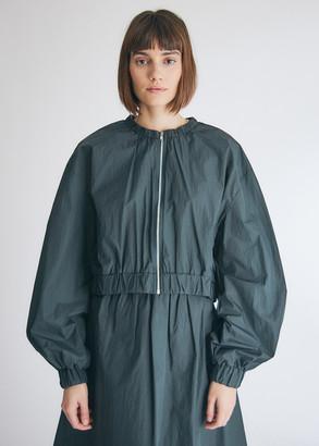 Hidden Forest Market Women's Wide Sleeve Bomber Jacket in Dark Green, Size Small