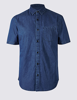 Limited Edition Pure Cotton Slim Fit Shirt with Pocket