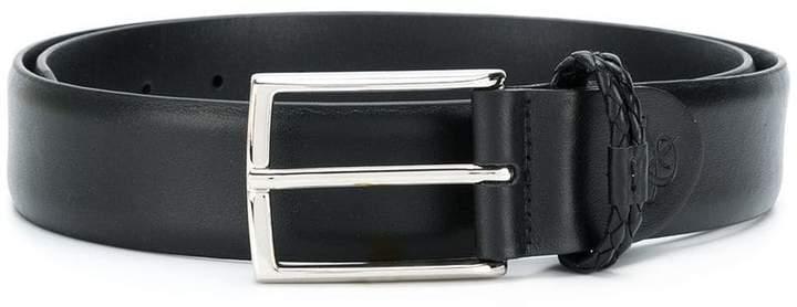 Canali oversized buckle belt