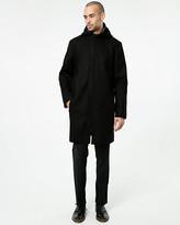 Le Château Wool Blend Melton Crombie Coat