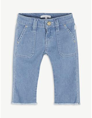 Chloé Denim culotte shorts 4-14 years