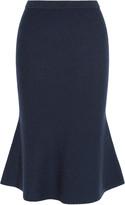 Iris and Ink Tilda Milano-knit wool midi skirt