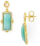 Freida Rothman Amazonian Allure Drop Earrings