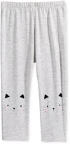 First Impressions Heathered Cat Leggings, Baby Girls (0-24 months), Only at Macy's