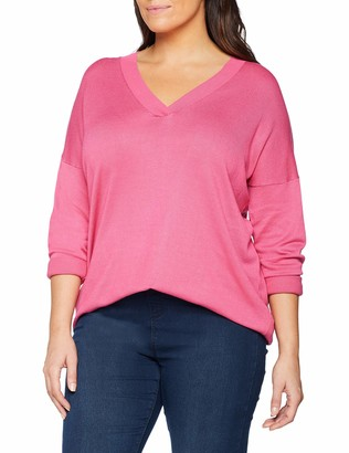 Simply Be Women's Slouchy V Neck Tunic Jumper