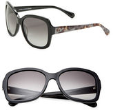 Diane von Furstenberg Tally Anne 57mm Square Sunglasses