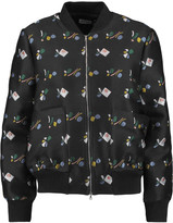 Suno Embroidered canvas jacket