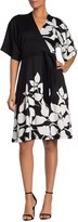 Trina Turk Magnolia Printed Waist Tie Dress