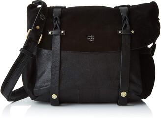 Mila Louise Womens 3112GV Cross-body Bag Black Black (NOIR 01)