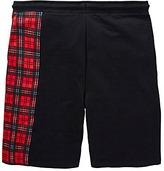 Label J Cut and Sew Tartan Short