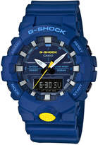 G-Shock Men's Analog-Digital Blue Resin Strap Watch 48.6mm