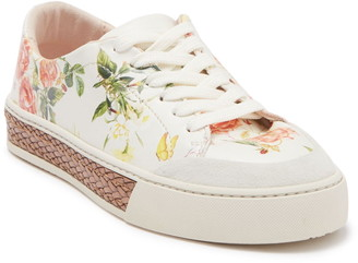 Fiorelli Finley Floral Platform Sneaker