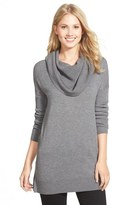 Caslon Side Slit Cowl Neck Tunic (Regular & Petite)