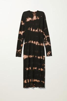 Weekday Emmy Dress - Black