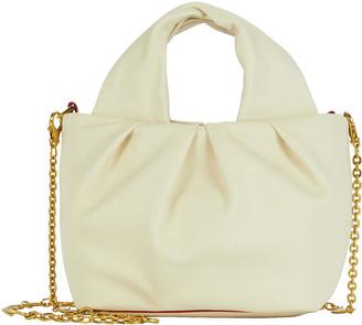 STAUD Mini Lera Folded Leather Bag