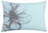 "Thomas Paul Seedling By Botanical Flower Toss Pillow 14""X20"" - Blue"