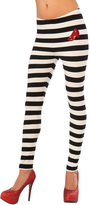 Rubie's Costume Co Black & White Wicked Witch of the East Leggings - Women