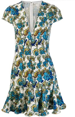 Stella McCartney Floral Ruffle Dress