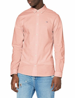 Tommy Jeans Men's TJM Stretch Oxford Shirt Casual