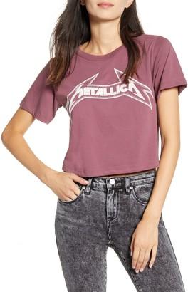 Daydreamer Metallica - Young Metal Rebel Crop Tee